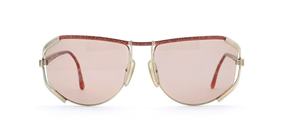 Amazon.com: Christian Dior 2609 43 Dorado y Rojo Authentic ...