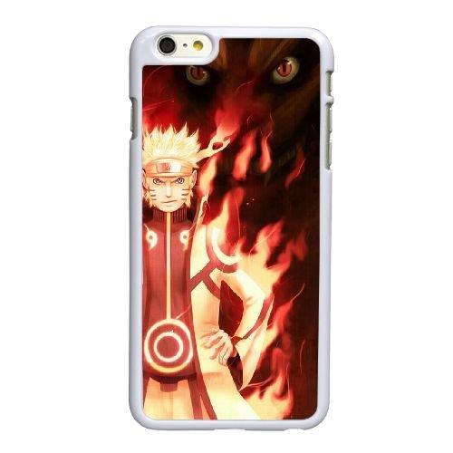 T9C21 Naruto R4R3AL coque iPhone 6 Plus de 5,5 pouces cas de couverture de téléphone portable coque blanche DB1JRL1UE