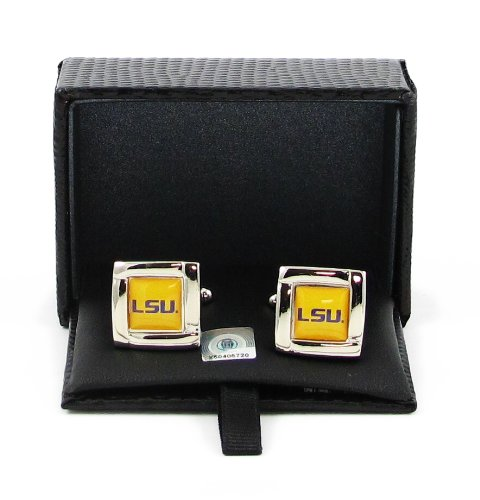 Ncaa LSU Tigers Square Cufflin