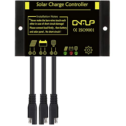 - SUNER POWER Waterproof Solar Charge Controller - Intelligent12V/24V Solar Panel Battery Regulator
