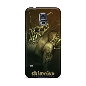 Great Cell-phone Hard Covers For Samsung Galaxy S5 With Unique Design Realistic Chimaira Band Series MarieFrancePitre