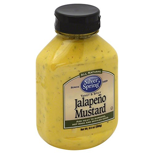 Silver Spring, Jalapeno Mustard, 9.5oz Container (Pack of ()