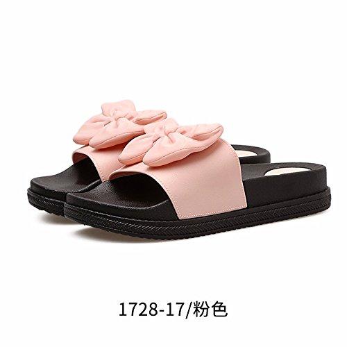 coole el Muffins damas Heels calzado Bug zapatillas y modische High Verano toallas calzado Rosa zapatillas HgwtTxT7