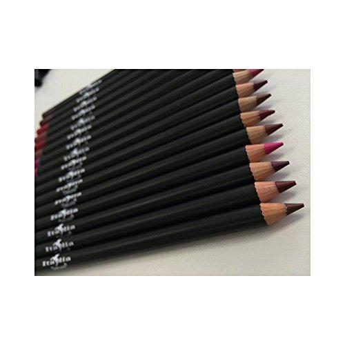 Italia Deluxe Ultra Fine Lip Liner set (Pack Of 12)
