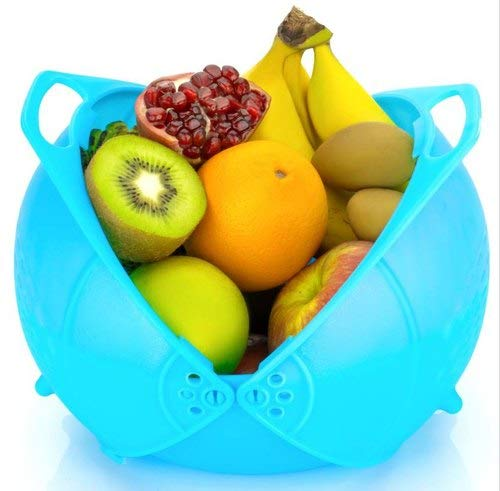 Ketsaal Innovative Rinse Bowl and Strainer in One (Multicolour) Price & Reviews