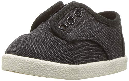 - TOMS Baby Paseo Sneaker Black Washed Canvas 7 Medium US Toddler