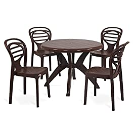 Supreme Oak with Marina Dining Room Set