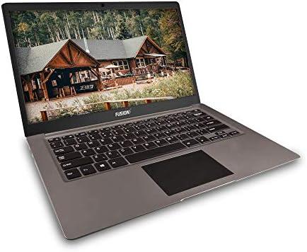 Fusion5 14.1inch A90B+ Pro 64GB Windows 10 Laptop - 4GB RAM, 64GB Storage, Full HD IPS, Bluetooth, 2MP Webcam, Dual Band WiFi Laptop WeeklyReviewer