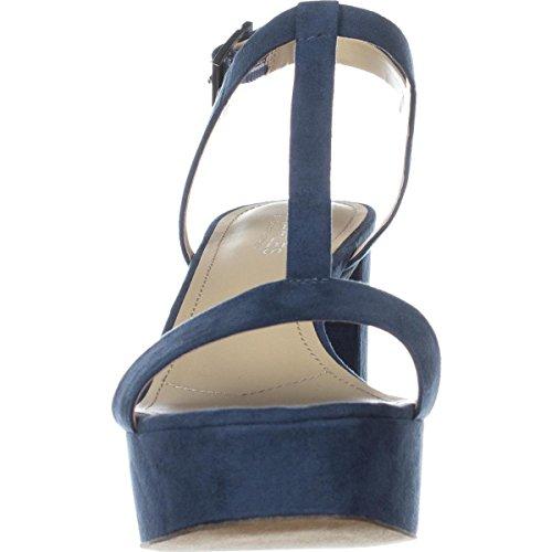 Charles Di Charles David Womens Miller Platform Dress Sandal Denim