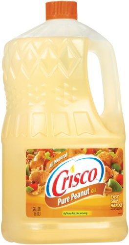 Crisco Pure Peanut Oil, 1 Gallon (Pack of 4) by Crisco (Image #2)