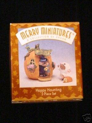 Hallmark Merry Miniatures Happy Haunting 2 Piece Set -