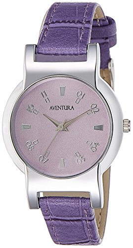 Aventura Analog Purple Dial Women's Watch – AVW247
