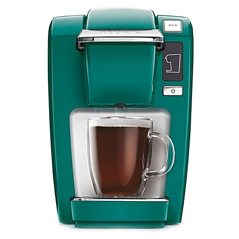 Compact Design Keurig® K10/K15 Brewing System Perfect for smaller spaces, dorms, offices, or vacation homes (Jade)