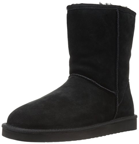 Koolaburra by UGG Women's koola Short Fashion Boot, Black, 11 M US