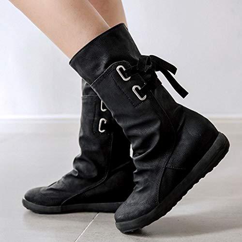 black Stivali 2 Arricciati Melady Donna H8qvWYR