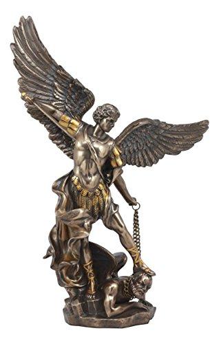- Ebros Large Archangel Saint Michael Slaying Satan Statue 14