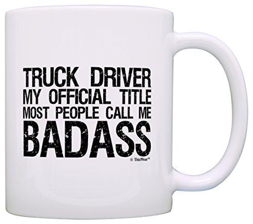 Trucker Driver Official Badass Fathers