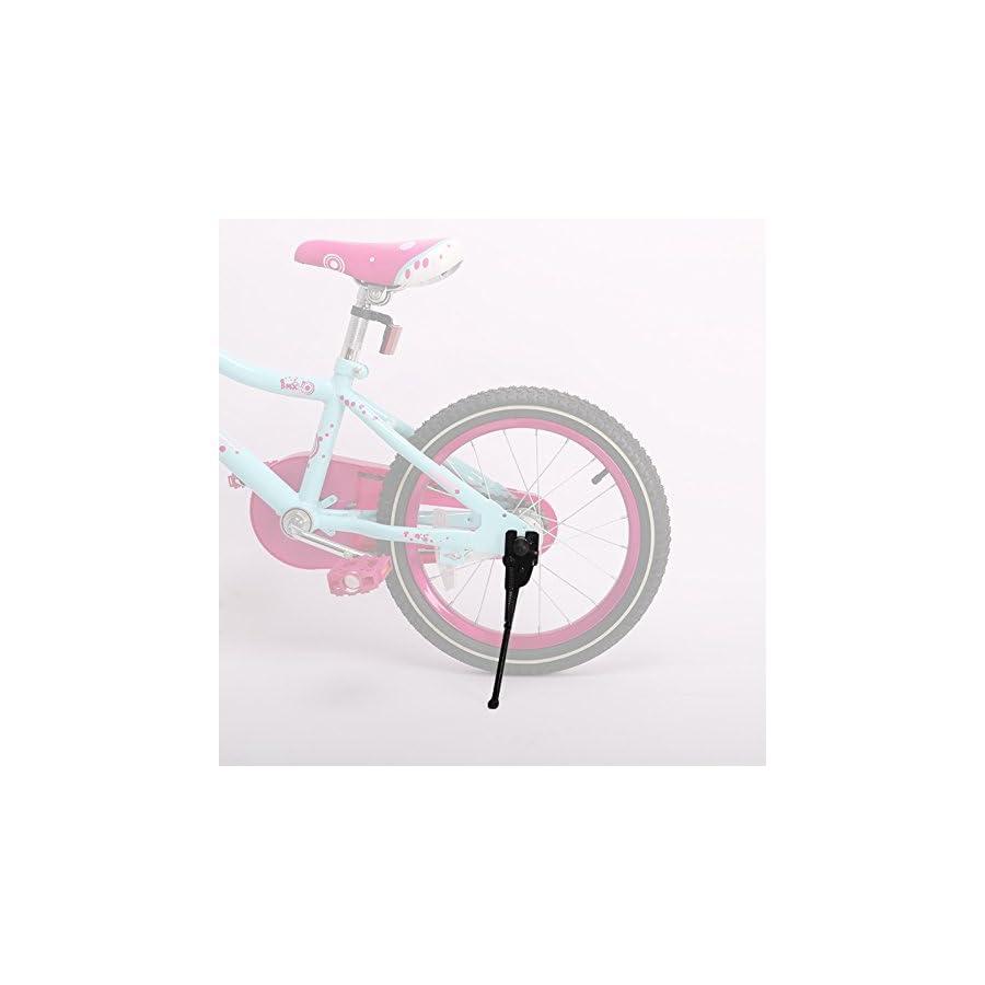 DRBIKE Kickstand for 18 inch Kids Bike, Black