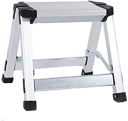 NOOYC Escalera de Mano, 1/2/3 Paso Escalera Plegable Antideslizantes Aluminio Escalera Alta Multifuncional Multiuso Calidad Diseño para Home Office Loft,2 Step Ladders: Amazon.es: Hogar