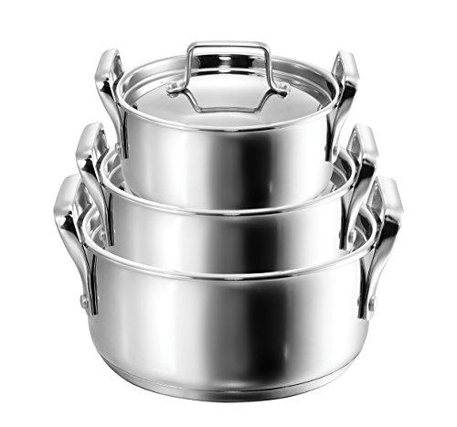 Kopf 122456 Cocotte Haute Grandis INOX Hauteur de 19 cm /Ø 26 cm 10/litres