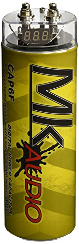 MK Audio CAP6F Digital Power Capacitor for System with 6000 Watts Peak/3000 Watts RMS