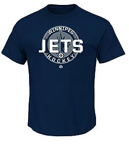 NHL Men's Clearing The Puck Program Basic Short Sleeve Tee