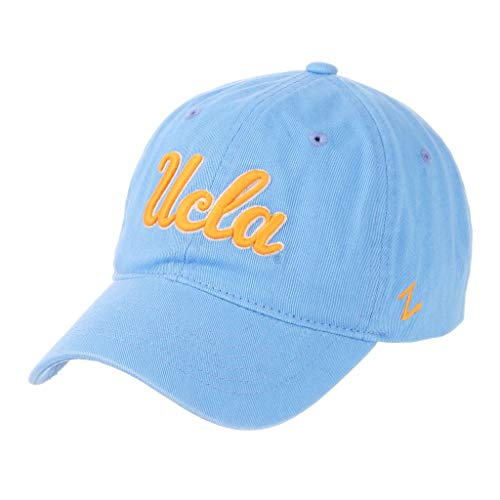 (CampusHats University of California Los Angeles UCLA Bruins Light Blue Scholarship Relaxed Unstructured 100% Cotton Mens/Womens Baseball Hat/Cap Size Adjustable )