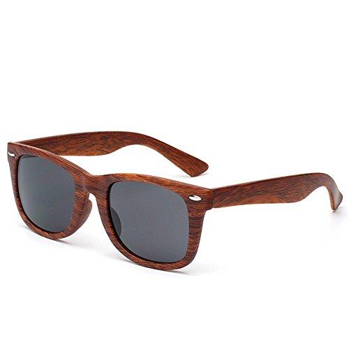 Gafas Gafas De De Hombre Woodgrain De Gafas Sol 1 WANGKEAI Gafas Retro 2 Sol Unisex Vintage Sol wpPBxq7q5z