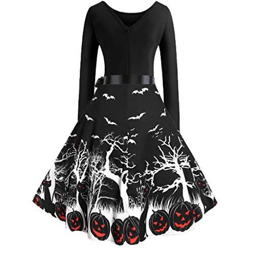 Skimpiest Halloween Costumes - KLFGJ Halloween Costume Women Vintage Long