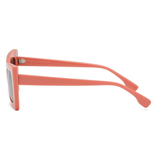 Yushiwu Sunglasses, Gafas de Sol Hombre Mujer con Irregular ...