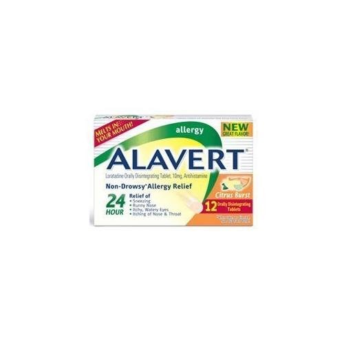Alavert Non-Drowsy Allergy Relief Citrus Burst Orally Disintegrating Tablets - - Alavert Tablets Disintegrating Orally