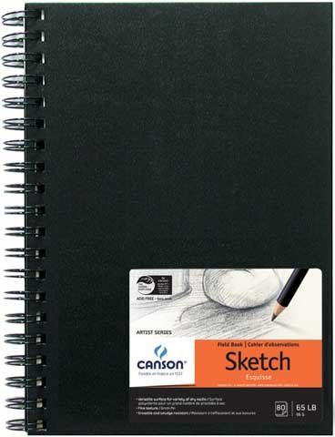 Canson Field Sketch Book - 11 x 14 Inch by Canson