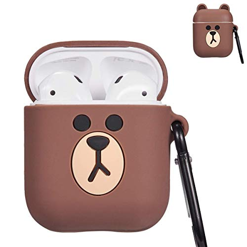 cd31ee7f0b CooSun Airpods Case Airpods Accessories Protective Silicone Cover and Skin  for Apple Airpods Charging Case (