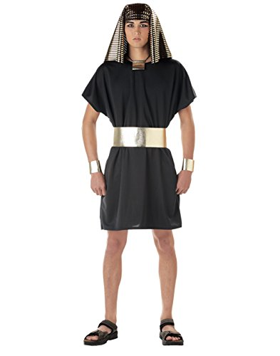California Costumes Men's Pharaoh,Black,Large Costume ()