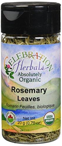 CELEBRATION HERBALS Rosemary Leaf Whole Organic 21 g, 0.02 Pound by Celebration Herbals