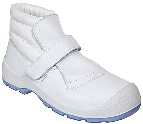 Panter 415101600-Forge VELCRO Totaux 269 S2 Blanc Taille : 44