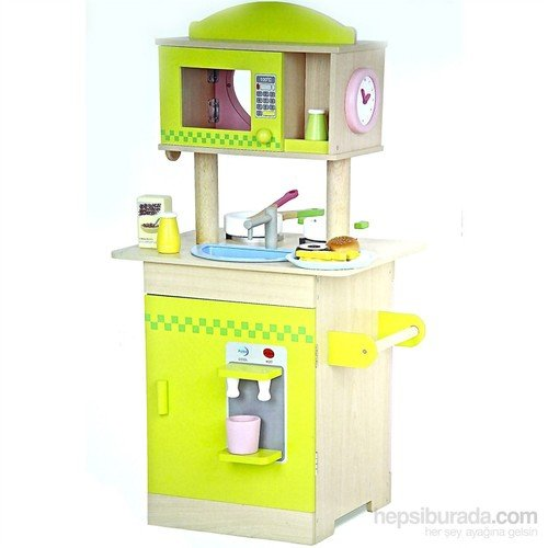 Serra Baby Educational Wooden Kitchen - Bi-directional by Serra Baby