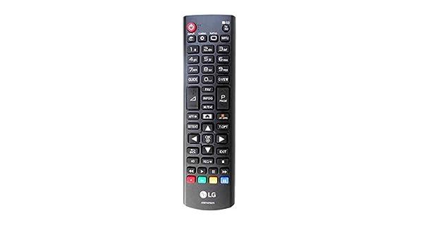 Genuino AKB74475479 Control Remoto para LG TV 42LF5800 42LN5708 42LN575S 43LH5100 43LH510V Smart LCD LED TVs: Amazon.es: Electrónica