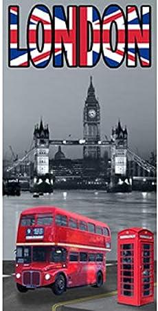 SURFBISCUS Drap DE Plage Londres Bus Anglais
