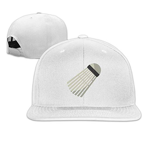 ONE-HEART HR Baseball Cap Badminton Birdie Ball Adjustable Custom Flat Peaked Hat Unisex