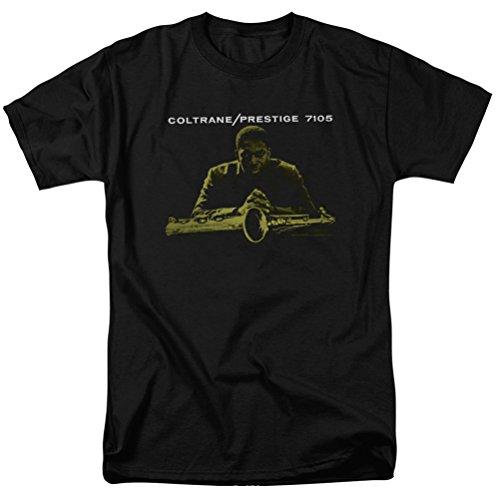 John Coltrane Prestige 7105 T-Shirt, Black, Large ()