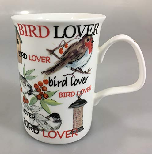 Roy Kirkham Bird Lover Fine Bone China Mug ()