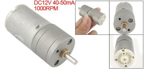 eDealMax 25mm DC 12V 40-50mA 1000RPM Torque Gear Motor Box - - Amazon.com