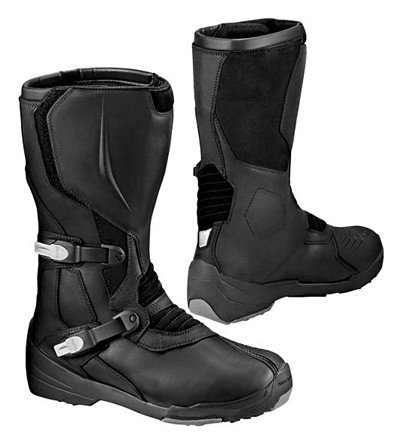 BMW Genuine Motorcycle Riding Gravel Boot EU-45 |USA-M10 Black