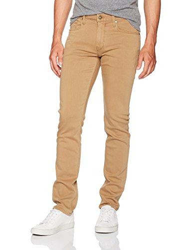 PAIGE Men's Federal Transcend Slim Leg Jean, Vintage Dark Camel, 34