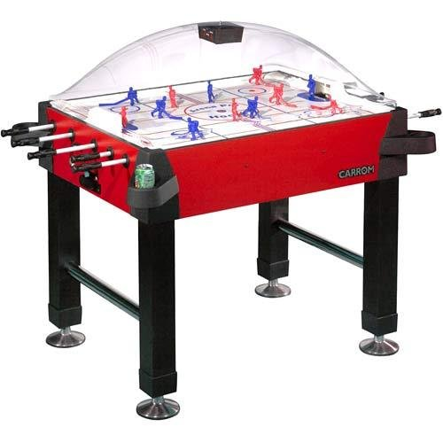 Carrom 425.00 Signature Stick Hockey Table with Legs (Red)