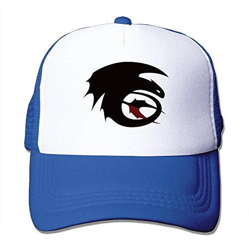 Cool How To Train Your Dragon Toothless Trucker Cap Baseball Hat (5 Colors) RoyalBlue]()