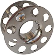 DYNWAVE Stainless Steel Cord Reel Rope Organizer Finger Spool for Scuba Diving, Snorkeling, Fishing and Other