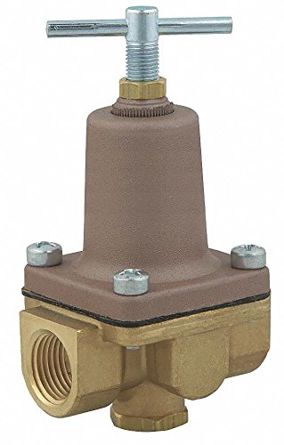 (Pressure Regulator, 3/8 In, 10 to 125 psi)