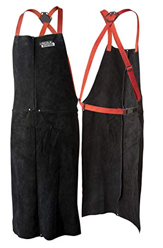 Lincoln Electric Leather Welding Apron | 42'' Length | Adjustable Fit | Black |K3110-ALL by Lincoln Electric (Image #4)